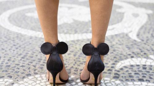 Las nuevas y populares sandalias de fantasía al estilo Minnie Mouse