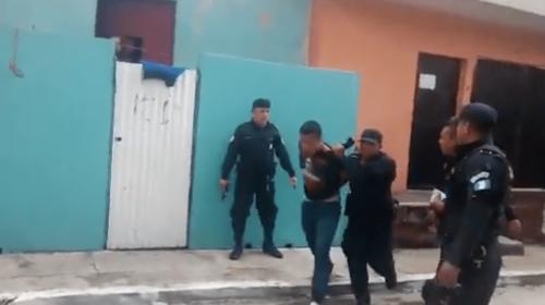 PNC logra la captura de tres hombres después de tiroteo y persecución