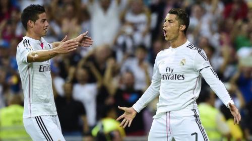Cristiano deja entrever que James podría marcharse del Real Madrid