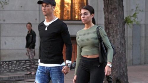 Así responde la novia de Cristiano Ronaldo a los rumores de embarazo