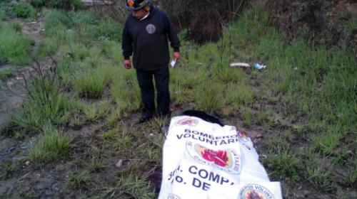 Localizan restos humanos con un escalofriante mensaje en Mixco