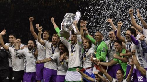 Así festejaron los jugadores del Real Madrid el título de la Champions