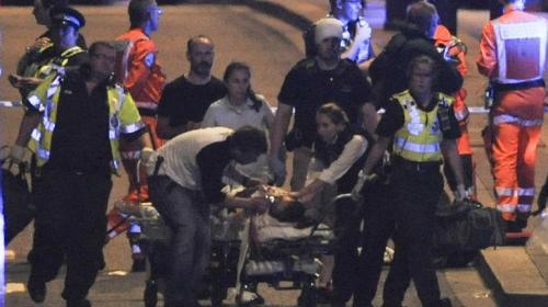 Video muestra a los terroristas de Londres buscando víctimas