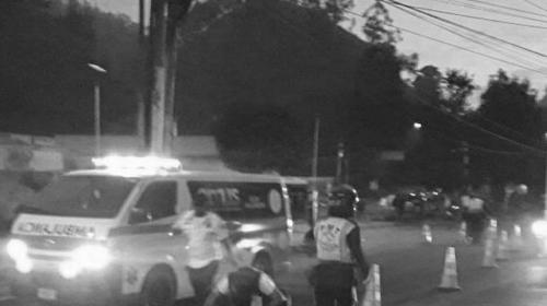 Peatón muere atropellado en inicio de cuesta de Villa Lobos