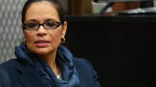 EE.UU. solicita oficialmente la extradición de Roxana Baldetti