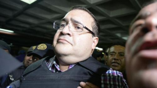 El mexicano Javier Duarte está un pasó más cerca de ser extraditado