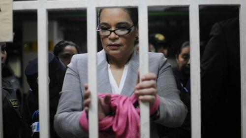 ¿Qué pasará con Roxana Baldetti ante la solicitud de extradición?