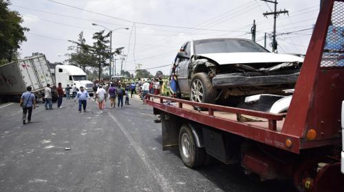 Las horas negras del tráfico en Guatemala
