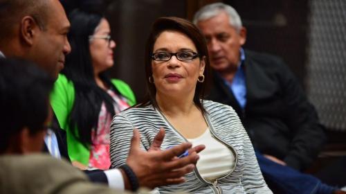 Este es el expediente de extradición de Roxana Baldetti