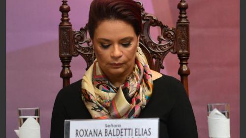 Roxana Baldetti podría ser extraditada hasta el 2044