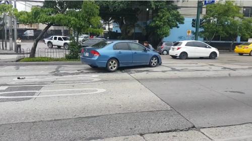 PMT inicia proceso para multar a conductora por altercado en zona 4