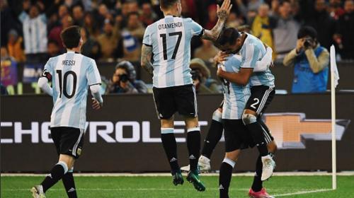Sampaoli debuta a lo grande con Argentina y le gana a Brasil