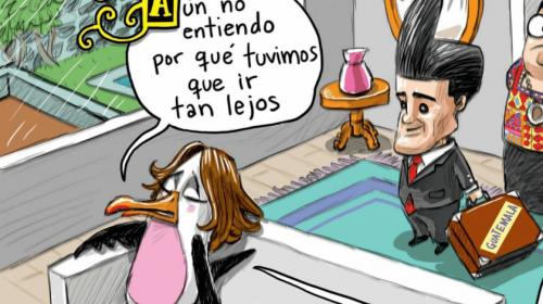 Periódico mexicano publica caricatura discriminatoria contra Guatemala