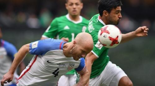 México no pudo contra EE.UU. en el estadio Azteca