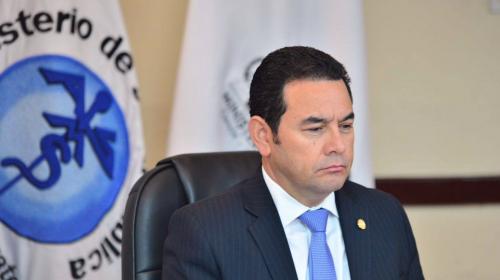MP traslada antejuicio contra Jimmy Morales a la CSJ