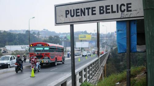 Evaluarán estado del Puente de Belice tras fuerte sismo