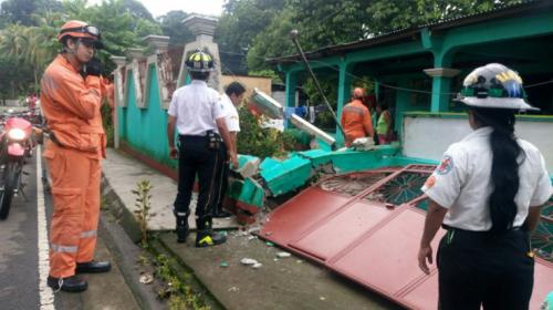 Suspenden clases en estos departamentos por sismo y fuertes lluvias