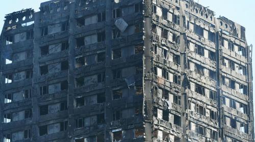 Un video muestra cómo quedó por dentro la torre incendiada en Londres