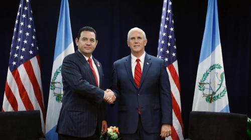 Así fue el encuentro entre Jimmy y el vicepresidente de EE.UU.