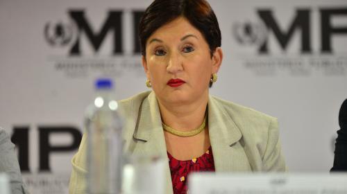 """Thelma Aldana: """"Mi ausencia no afecta la relación del MP con EE. UU."""""""