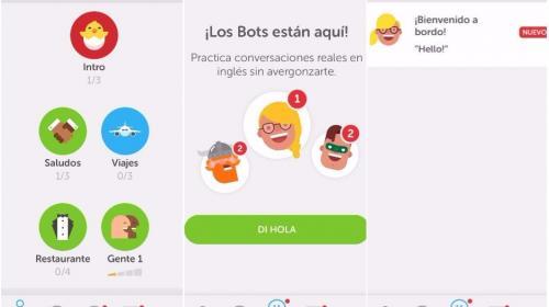 """Duolingo lanza """"Chatbots"""" para que puedas practicar mejor tu inglés"""