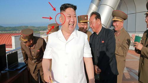 Las orejas de Kim Jong-un, manipuladas con Photoshop por años