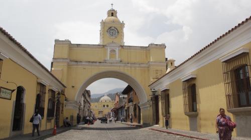 La Calle del Arco de Antigua Guatemala volverá a ser peatonal