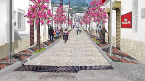 Neto Bran modifica calles de Mixco para que luzcan como en Antigua