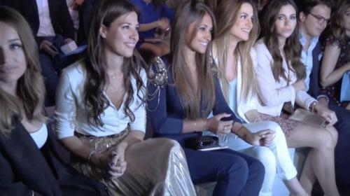 El vestido de novia de Antonella Roccuzzo todavía está en Barcelona