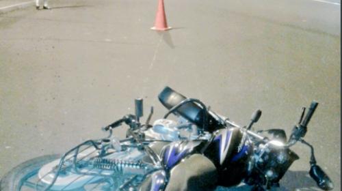MP investiga misteriosa muerte de un motorista en el Periférico