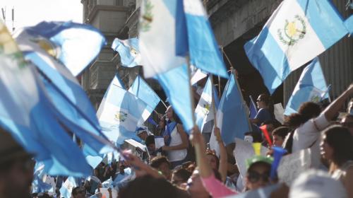La bandera de Guatemala no se mancha
