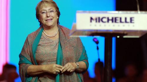 Así celebró Michelle Bachelet el triunfo de Chile sobre Portugal