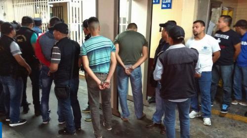 Capturan a 7 policías que habrían agredido a reclusos de Las Gaviotas
