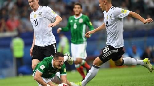 Alemania golea sin piedad a México