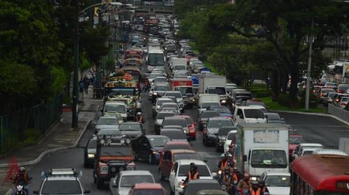 Estos son los puntos más conflictivos en el tráfico este jueves