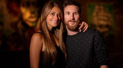 Lionel Messi comparte la última foto de novio con Antonela Roccuzzo
