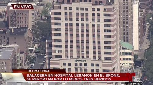 Tiroteo en un hospital de Nueva York deja varios heridos