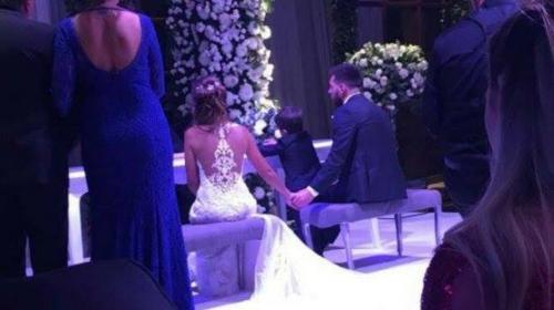 """Messi dio el """"Sí"""" y estas son las primeras imágenes de su boda"""