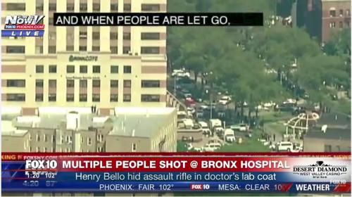 Un doctor sería el responsable del tiroteo en hospital de Nueva York
