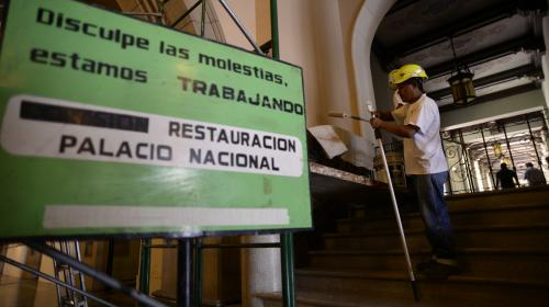 Reparaciones del Teatro y el Palacio Nacional costarán Q21 millones