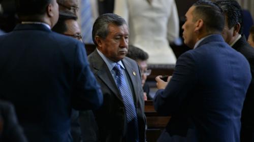 Congreso suspende a Edgar Ovalle y sindicados por plazas fantasma