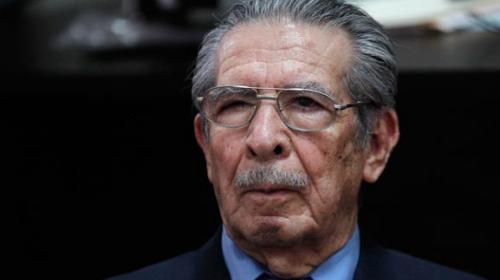 Efraín Ríos Montt enfrentará juicio especial por caso de Las Dos Erres