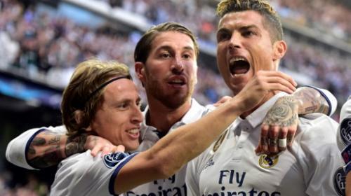 El Real Madrid pone un pie en la final de la Champions League