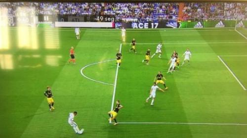¿Hubo fuera de juego en el gol de Cristiano Ronaldo?