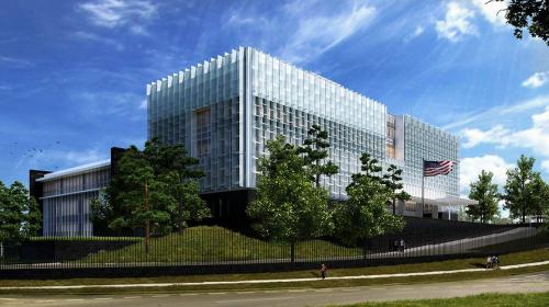 Esta será la nueva sede de la Embajada de EE. UU. en Guatemala