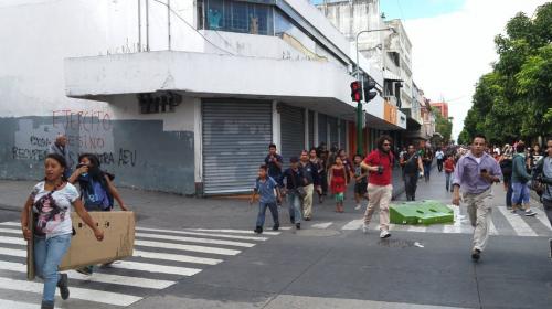 Balacera en la Sexta Avenida de la zona 1 deja dos heridos