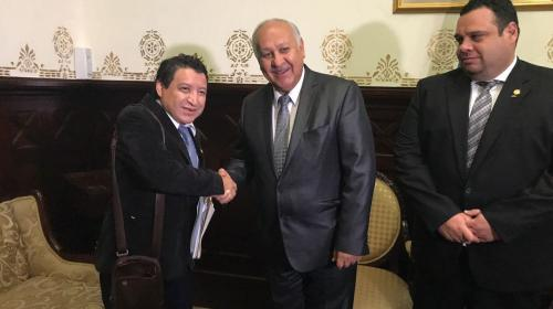 Diputados de FCN salvan a ministro de juicio político en el Congreso