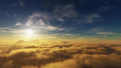 """El """"Ojo de Dios"""" aparece en el cielo y alarma a pobladores"""