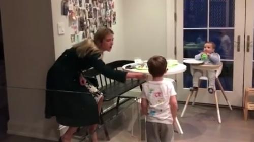 Ivanka Trump baila con sus hijos y el video se hace viral
