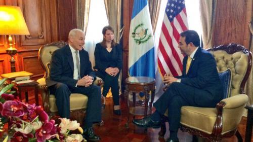 Jimmy Morales se reunirá con altas autoridades de EE.UU. en junio